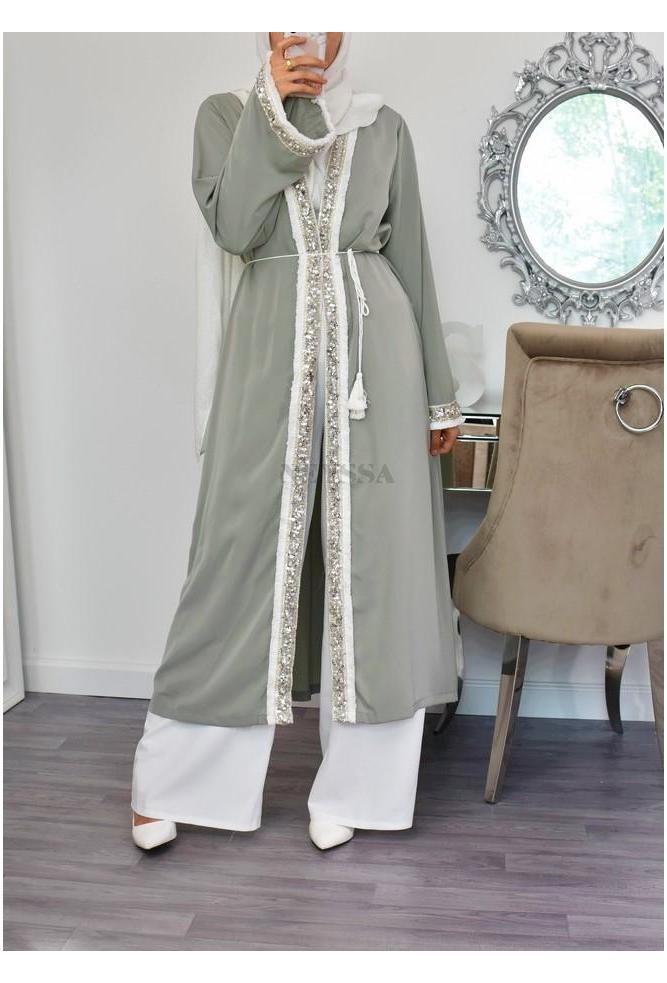Kimono sequin fête mariage