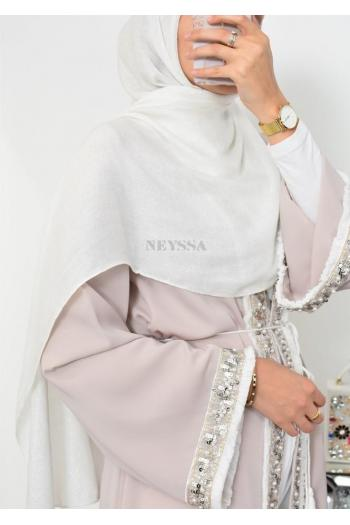 Hijab de fête pailetté