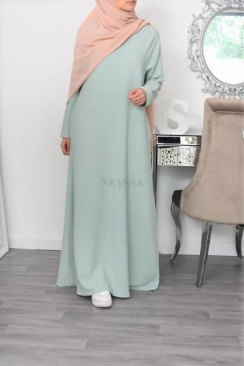 Flared Abaya dress Yumna