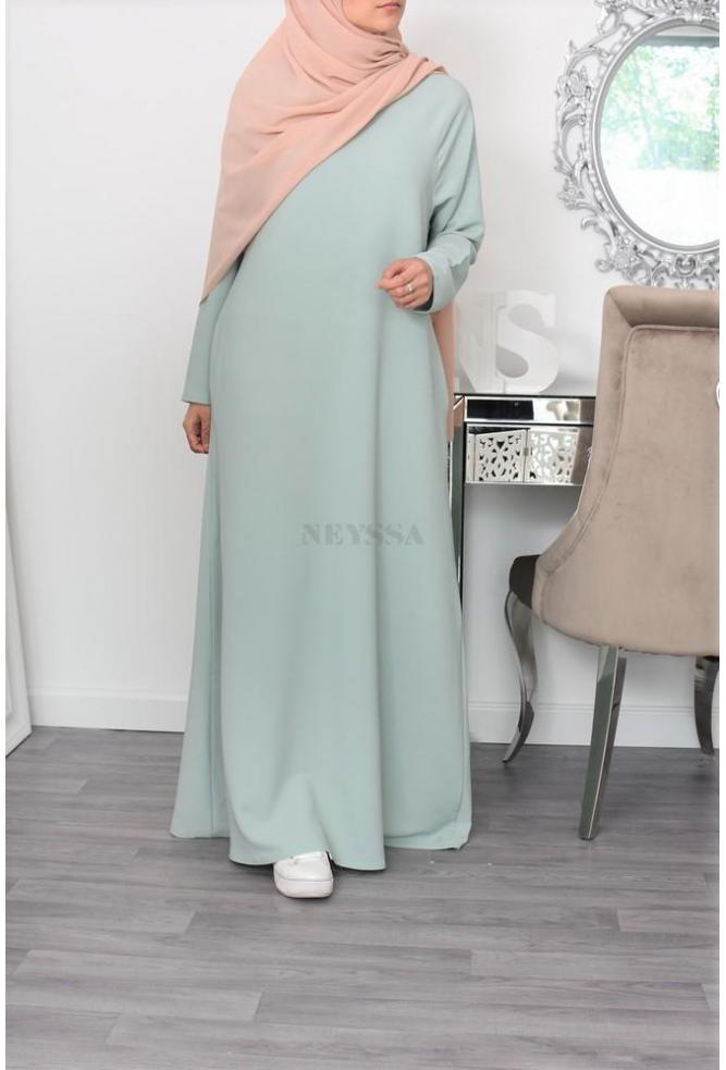 Flared Abaya dress Yumna