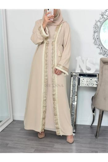 Kimono long modest fashion