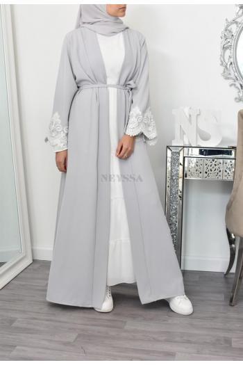 Kimono long moderne femme voilée