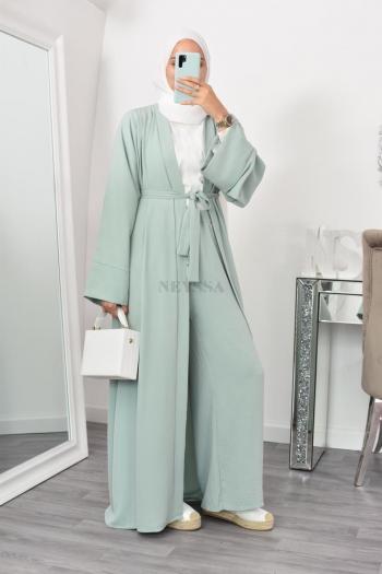 Kimono fluide long pas cher