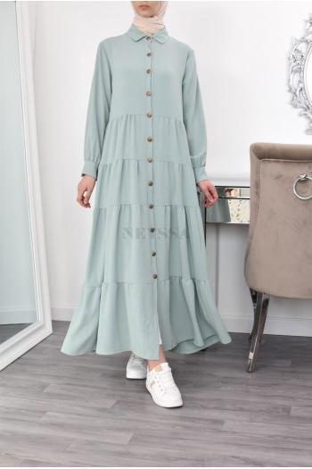 Robe longue femme 1m80 modest bohème