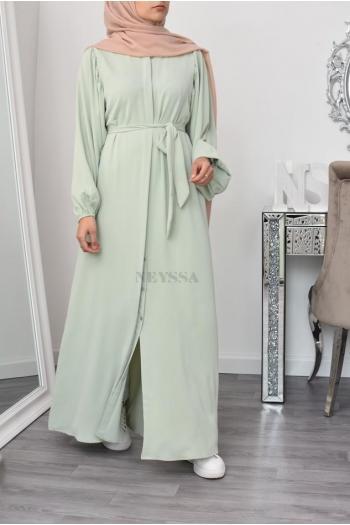 Robe Chemise femme musulmane estivale