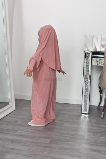abaya de prière enfant