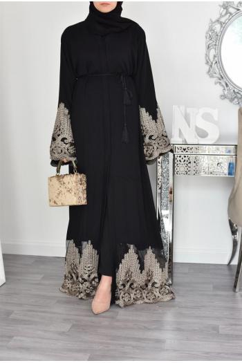 Abaya Dubaï Nidah black