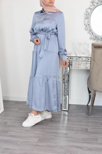 long Flared Summer dress