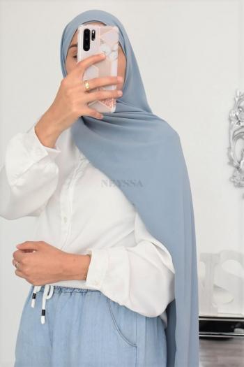 Maxi hijab crêpe 6'5