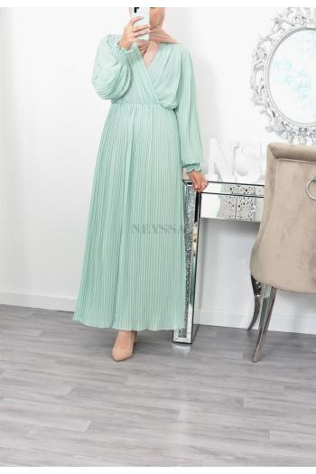Maxi dress Manel crossed bust