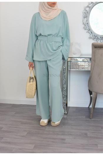 muslim summer trousers co ord