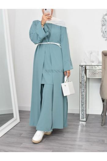 Ensemble 3 pièces kimono modest fashion