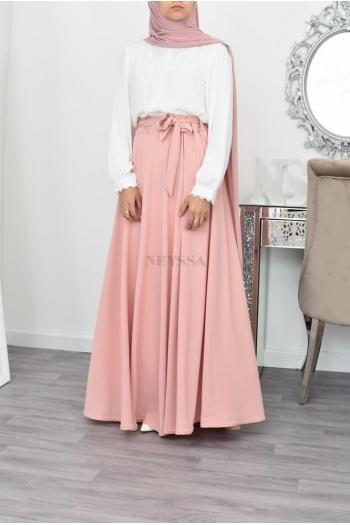 maxi skirt islamic modest skirt
