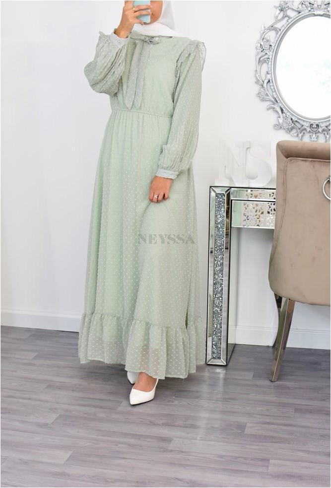 Flared Azéliya dress