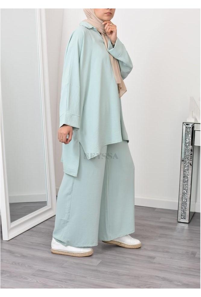 Ensemble modest fashion veiled women