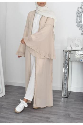 Kimono long en mousseline