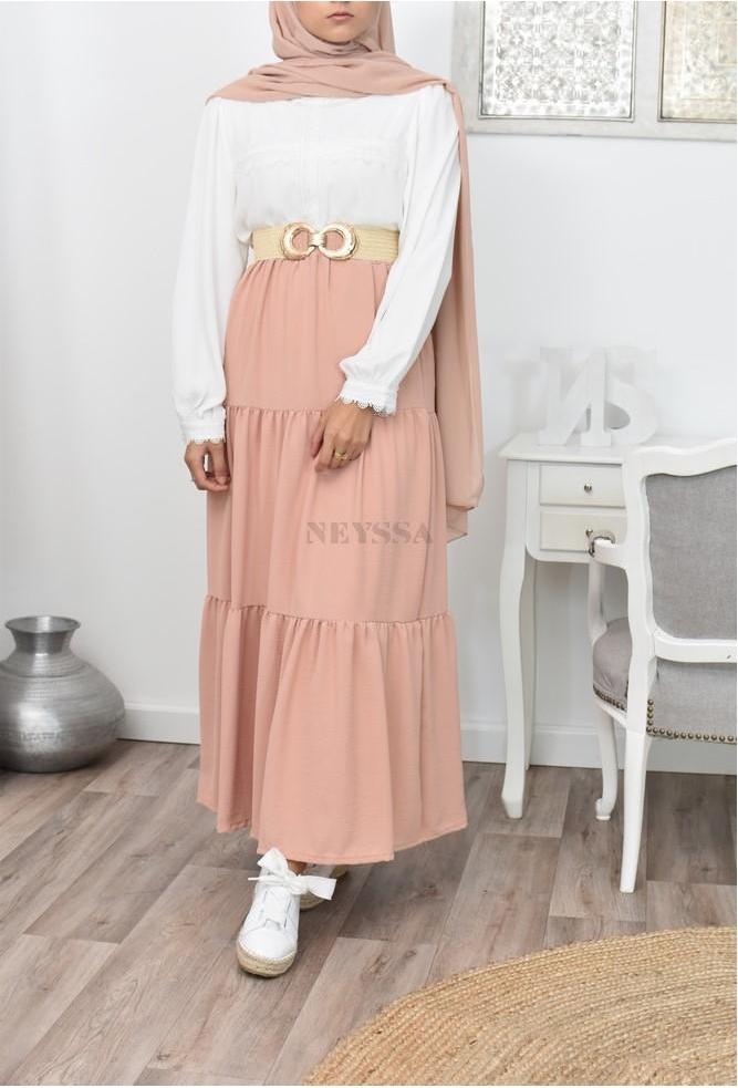 Maxi skirt Silk