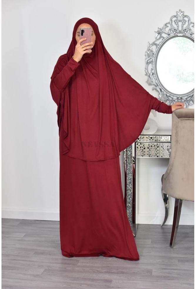 V2 hijab prayer dress included