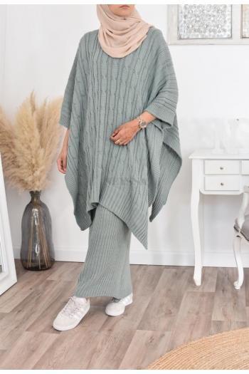 Ensemble tricot femme musulmane