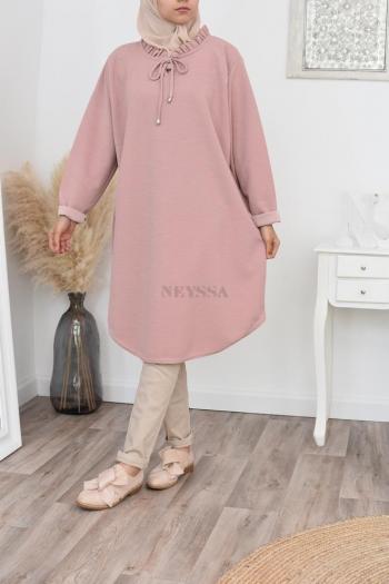 Large size mastoura tunic
