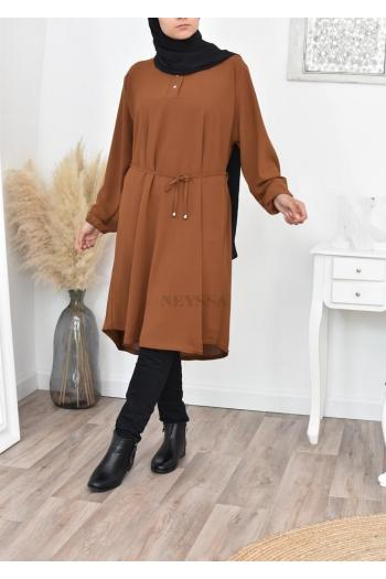Fluid large long tunic