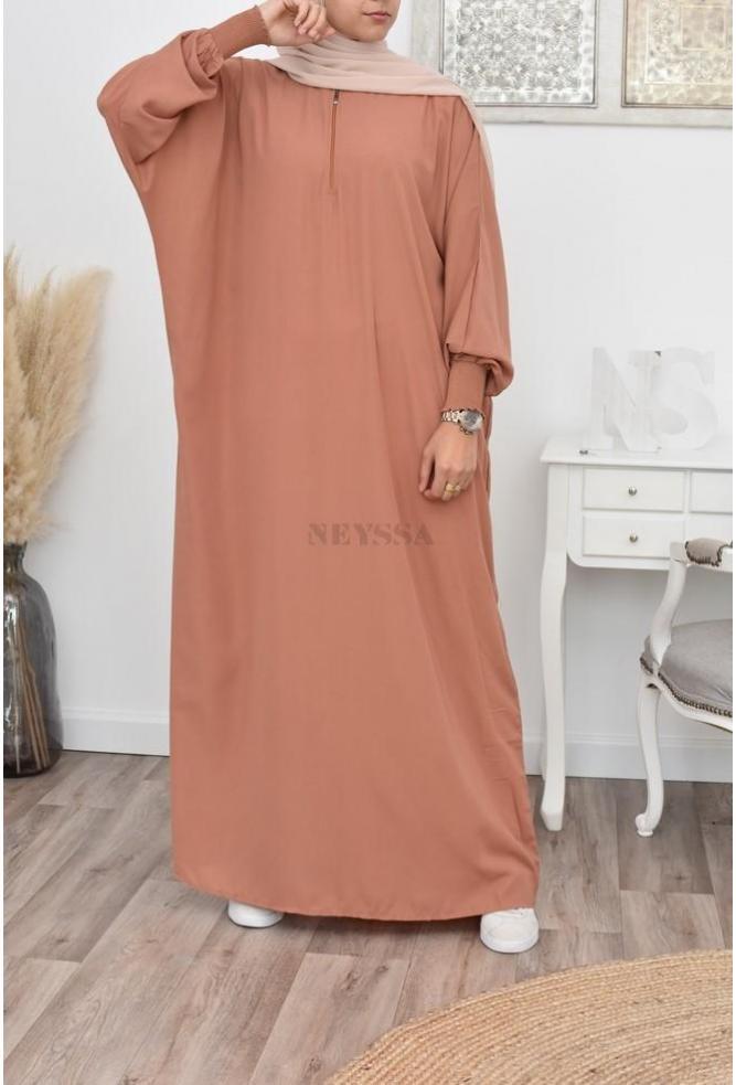 long abaya black
