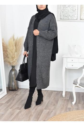 maxi cardigan wool winter Automn
