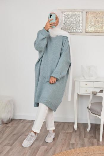 Pull oversize en laine tout chaud