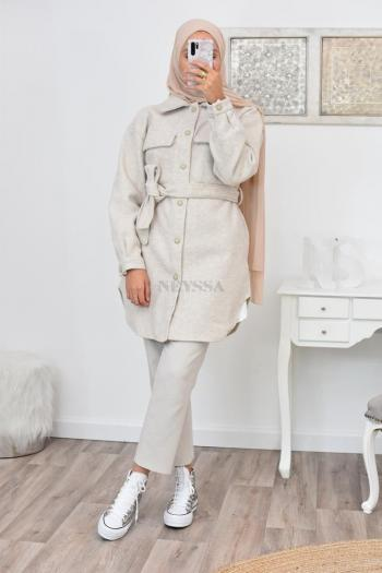 Veste sur chemise pas cher femme hijabi