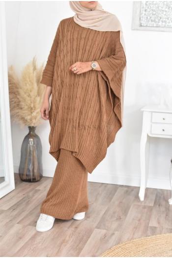 tunique grande taille tricot femme musulmane