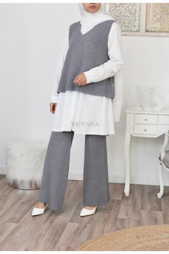 Ensemble pull et pantalon laine hiver