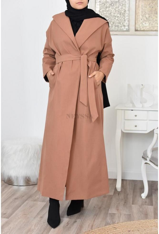 Long trench moderne pas cher