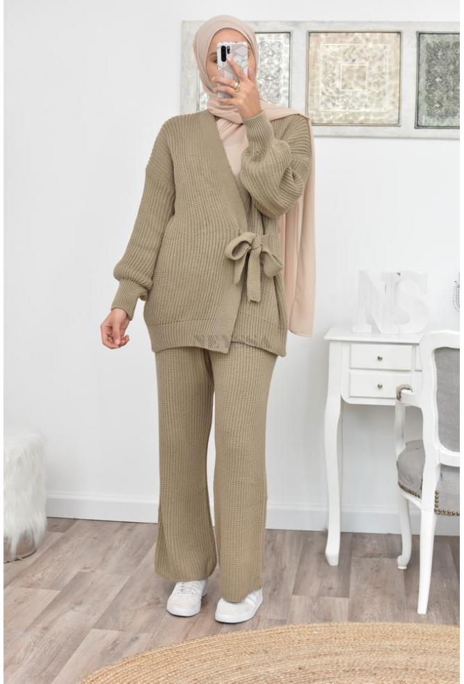 hijabi winter suit set