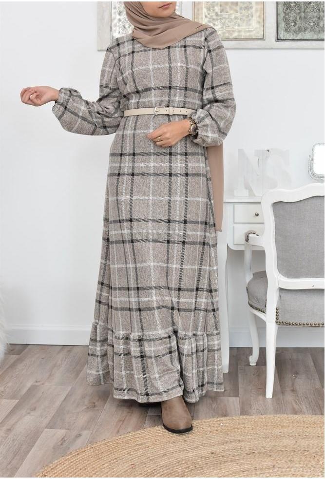 Long Dress wool hijabers