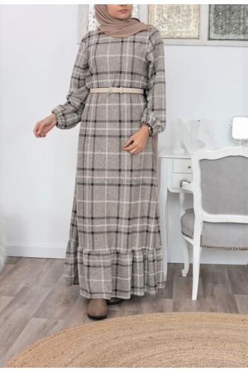 Long Dress wool hijabers