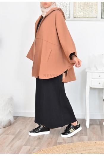 veste coupe vent forme papillon pour jilbab