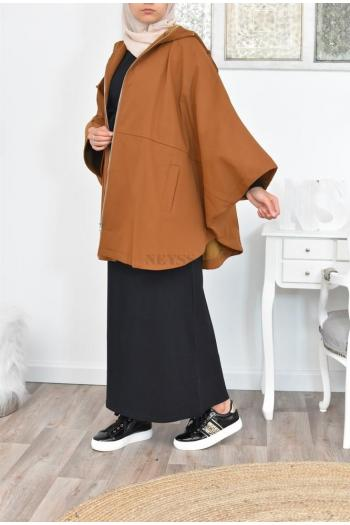 oversized butterfly jacket jilbab