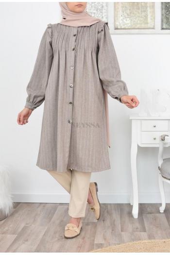 tunique longue mastoura modest fashion