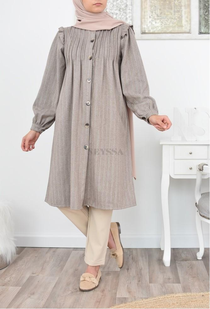 tunique longue mastoura modest fashion