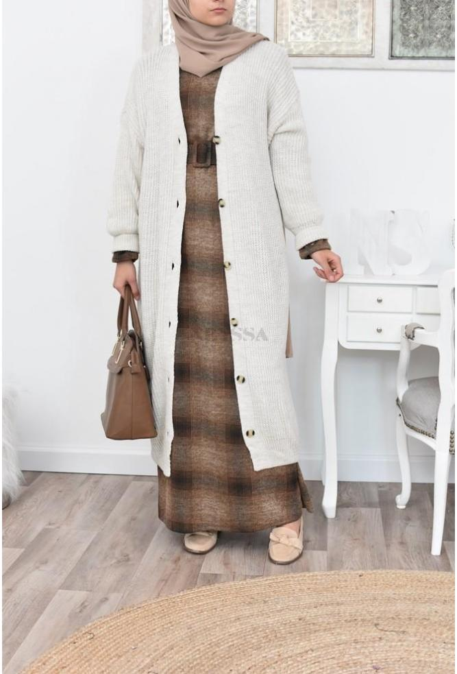 maxi cardigan hijabi