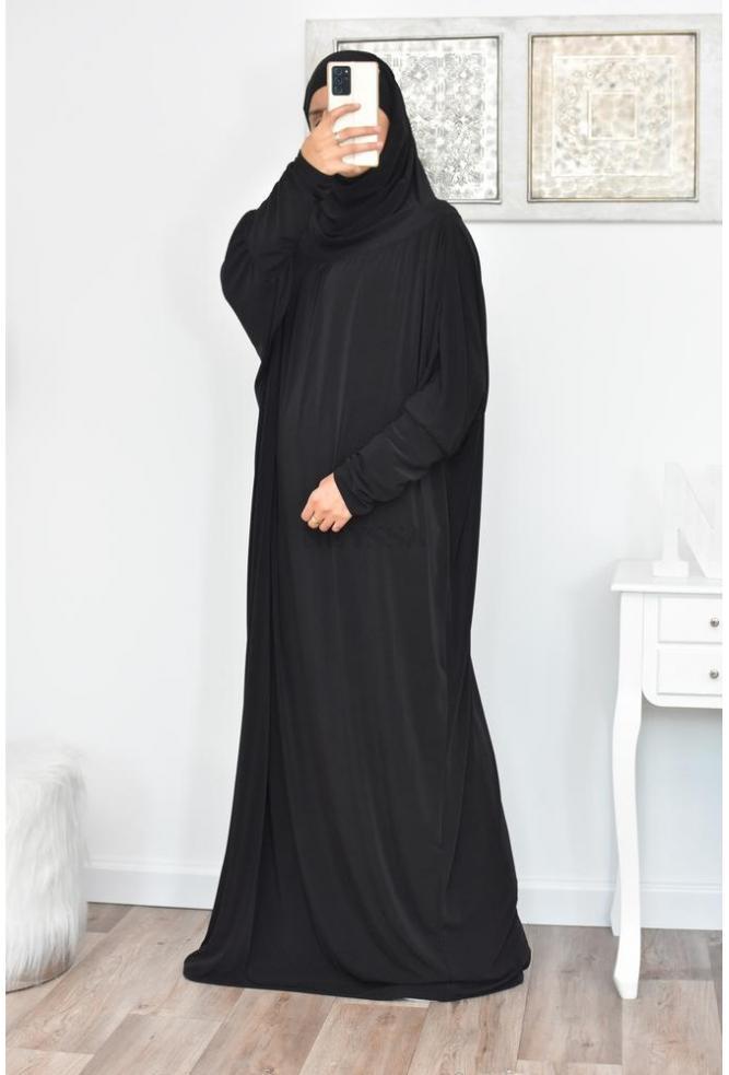 jilbab 1 pièce pas cher