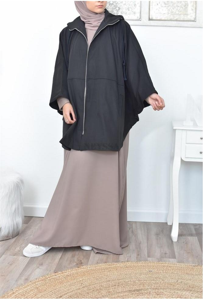oversized butterfly jacket jilbab