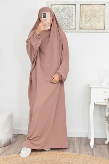 Jilbab une pièce pas cher