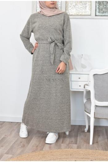 Robe pull longue hiver