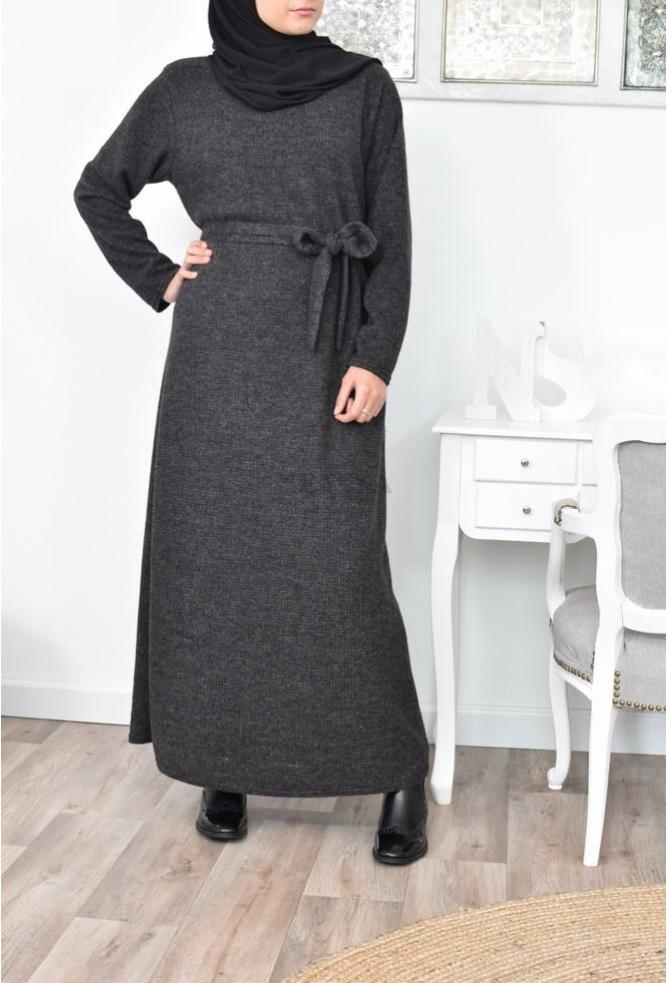 Long Dress wool Sofia
