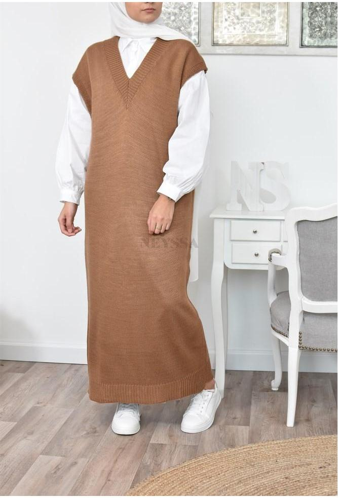 Long Dress wool Sofia