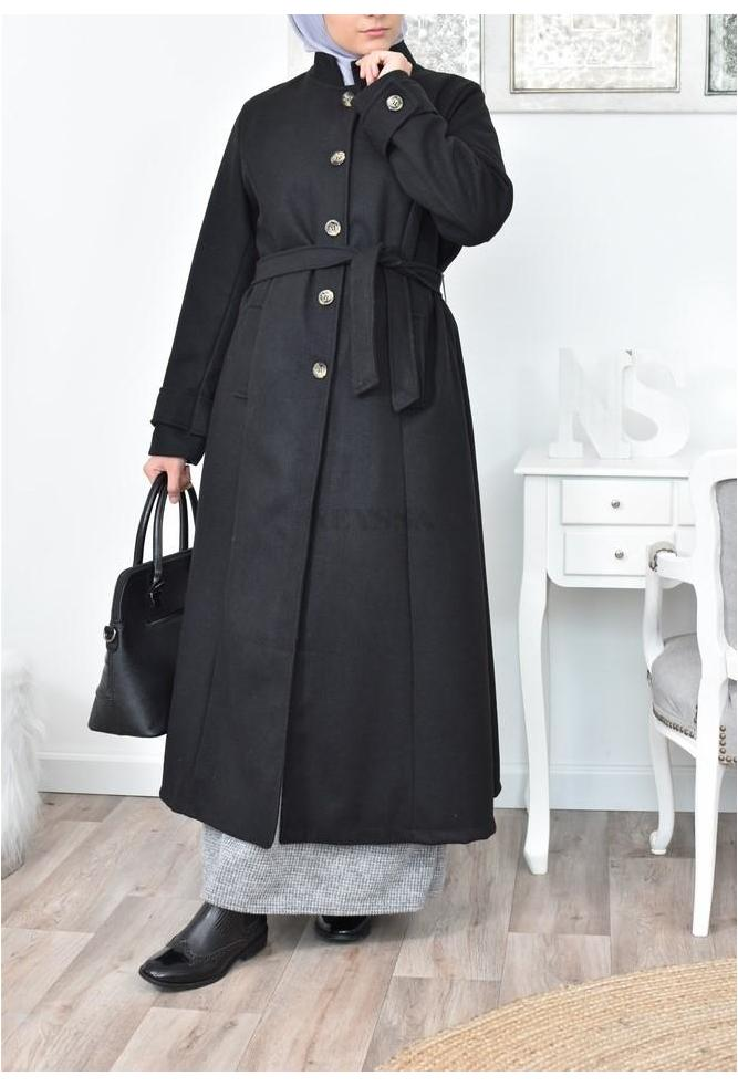 long coat big size hijab