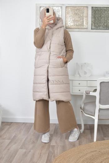 veste doudoune sans manches pas cher