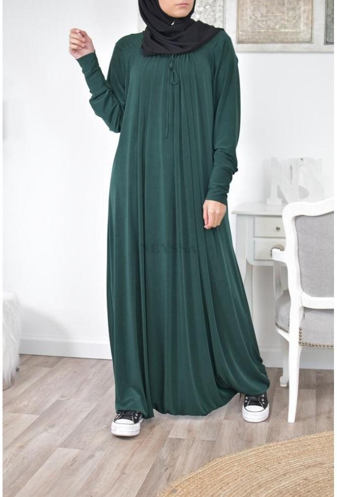 Robe Sarouel Femme Musulmane Decontractee Sportive Pas Cher