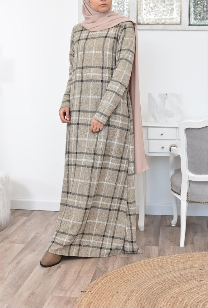 Robe longue hiver mode musulmane